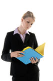 Corporate File Review Stock Image