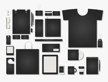 Corporate flat identity mock-up template for your design Royalty Free Stock Image