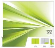 Corporate folder royalty free illustration