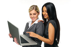 Corporate girls stock images