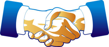 Corporate Handshake Stock Photo