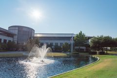 Corporate headquarters campus of Keurig Dr Pepper in Plano, Texas, USA stock photography