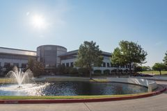 Corporate headquarters campus of Keurig Dr Pepper in Plano, Texas, USA stock images