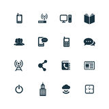 Corporate icons set Royalty Free Stock Image