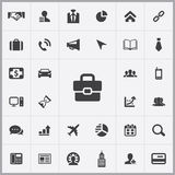 Corporate icons universal set. For web and mobile Royalty Free Stock Photos