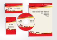 Corporate identity 2 Royalty Free Stock Image