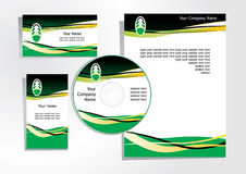 Corporate identity 3 Royalty Free Stock Photography