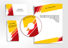 Corporate identity 4 Stock Images
