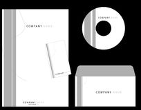 Corporate Identity. Letterhead corporate identity template - vector Stock Image