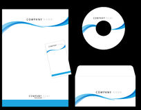Corporate Identity. Template , cd envelope,visiting card, letter head Stock Photo