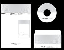 Corporate Identity. Set of an identity card use for corporate companies Stock Image