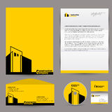 Corporate identity branding mock up Royalty Free Stock Photography