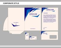 Corporate identity, business, branding, advertising stock illustration