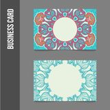 Corporate identity - business cards royalty free illustration