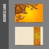 Corporate identity - business cards vector illustration