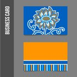 Corporate identity - business cards Royalty Free Stock Images
