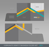 Corporate Identity Business Folder-Concept 08 Royalty Free Stock Photo