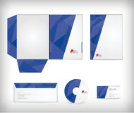 Corporate identity business set Stock Image
