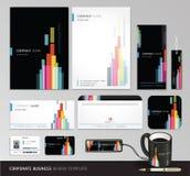 Corporate identity business set design. vector illustration