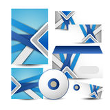 Corporate identity business set design. Illustration of Corporate identity business set design design Royalty Free Stock Images
