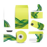 Corporate identity business set design. Illustration of Corporate identity business set design design Stock Image