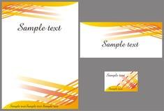 Corporate identity design Stock Photo