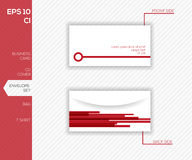 Corporate identity design for business - envelope Stock Photos