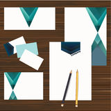 Corporate identity design set. Vector Stock Photos