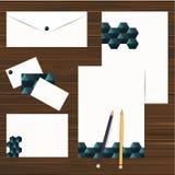 Corporate identity design set. Vector Stock Photo