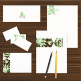 Corporate identity design set. Vector Royalty Free Stock Images