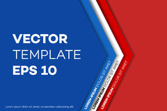 Corporate Identity Design Template, Vector Illustration. Stock Images