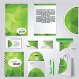 Corporate identity design vector Stock Photography