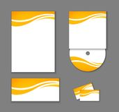 Corporate Identity elements isolated. Corporate Identity elements isolated, vector editable illustration Stock Images