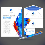Corporate identity kit or business kit Stock Images
