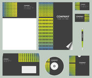 Corporate identity kit Royalty Free Stock Images