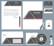 Corporate identity kit Stock Photos