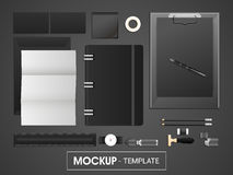 Corporate identity kit or mockup template for business. Stock Images
