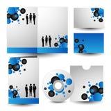 Corporate identity kit. vector Royalty Free Stock Image