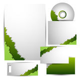 Corporate identity kit. vector Stock Images