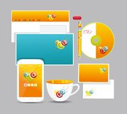 Corporate identity kit Royalty Free Stock Image