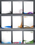 Corporate Identity Leterhead Stock Photos
