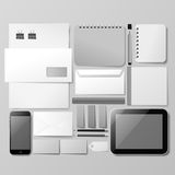 Corporate identity mockup Stock Images