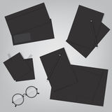 Corporate identity and office supply template Royalty Free Stock Photos