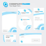 Corporate identity package Stock Photo