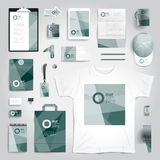 Corporate identity print template Stock Photography