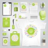 Corporate identity print template Royalty Free Stock Photo