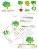 Corporate identity set Royalty Free Stock Photo