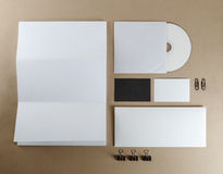 Corporate identity set Stock Images