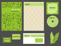 Corporate identity (stationery) for company Stock Photo