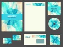 Corporate identity (stationery) for company Stock Photos